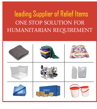 Disaster Relief Suppliers Disaster Relief Products